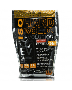 Proteína Isolada Iso Hard Bolic 2kg EVO Morango
