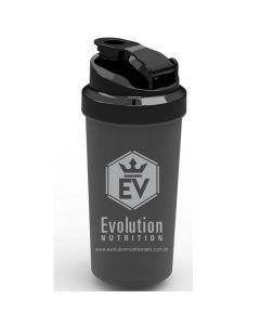 Coqueteleira Evolution Nutrition Preto