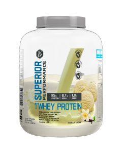 Whey Protein Concentrada e Isolada 2,4kg EVO-Vanilla Cream