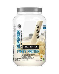 Whey Protein Concentrada e Isolada 900g EVO Vanilla Cream